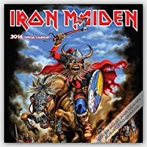 Iron Maiden 2016 Square 12x12 Global