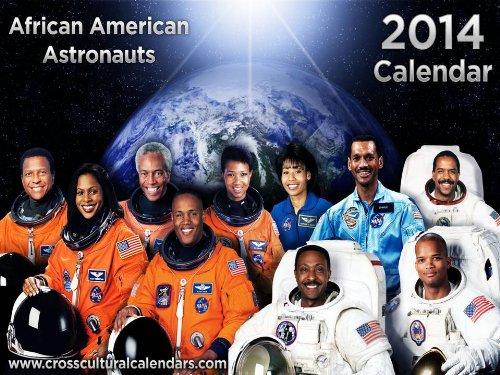2014 African American Astronauts Calendar - Zuhaixcvdxzfaeawar