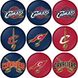 "Cleveland Cavaliers NBA Round Badge 1.75"" Badge Bottle Opener Keychain Amazon.com"