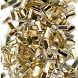 Yellow Silver Solder Chips Ultra Tiny Precut Pieces 0.5mm X 1mm X .25mm (Qty=1500)