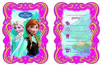 Einladungskarten-Set für Disney-Kindergeburtstag