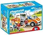 Playmobil - 6685 - Ambulance avec gyr...