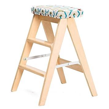 JJZDYZ Silla Silla plegable de madera maciza Casa Silla plegable moderna simple de la silla trasera (59 * 43cm) Silla plegable ( Color : 4* )