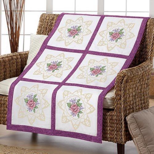 Lacy Rose Quilt Blocks