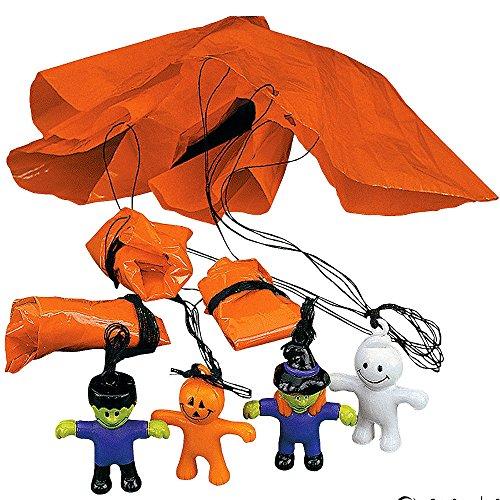 German Trendseller® - 12 x parachutistes de halloween l petits monstres tombent de la ciel l petit cadeau pour halloween ? paratroopers