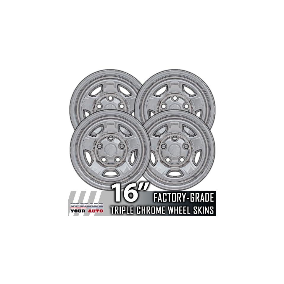 06 09 MITSUBISHI RAIDER 16 Chrome Wheel Skin Covers Automotive
