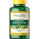 Puritan's Pride Evening Primrose Oil 1300 mg with GLA-120 Softgels