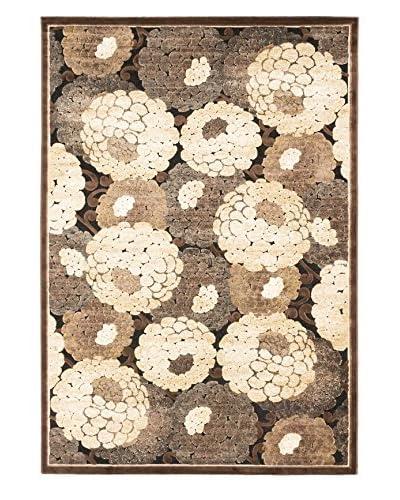 Matisse Rug, Cream/Dark Brown, 5' 2 x 7' 6