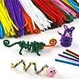 Pack Économique de Fils Chenille colorés - Vendu par lot de 120 - Idéal pour créer toutes sortes d'animaux