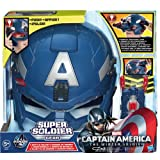 Marvel Captain America Avengers Super Soldier Helmet