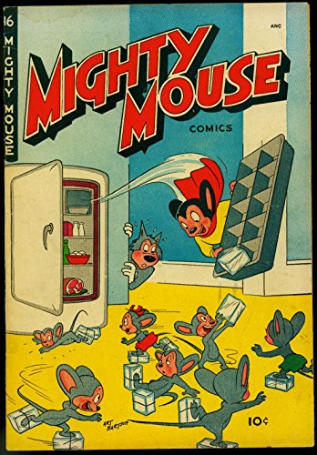Mighty Mouse #16 1950- St John Golden Age- Funny Refrigerator cover VG (1950 Refrigerator compare prices)