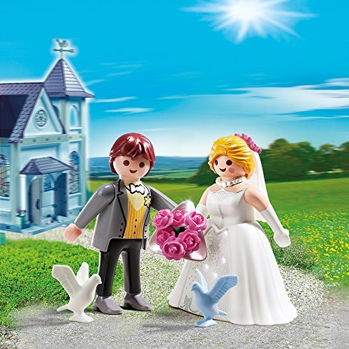 PLAYMOBIL Bridal Couple Duo Pack Building Kit