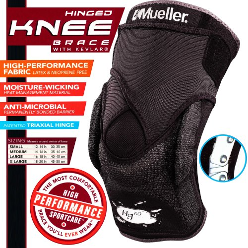 Mueller Hg80® HINGED Knee Brace - Ultimate Support For Sports!