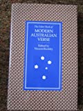 img - for The Faber Book of Modern Australian Verse book / textbook / text book