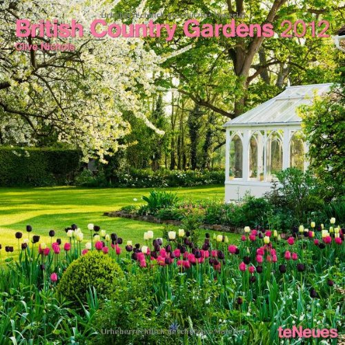 2012 British Country Gardens Calendar