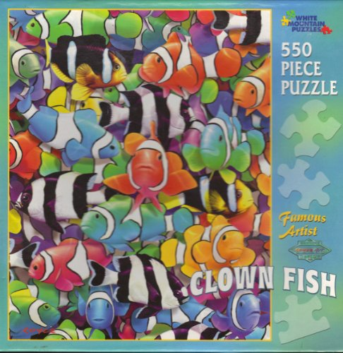 Famous Artist Clown Fish 550 Piece Puzzle - 1