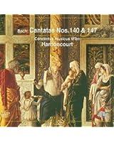 Bach, JS : Sacred Cantatas BWV Nos 140 & 147