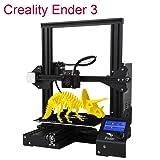 Creality Ender 3 3D Printer Aluminum V-Slot Prusa I3 DIY with Resume Printing 220x220x250mm (Tamaño: 220x220x250mm)