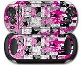 Sony PS Vita Skin Checker Skull Splatter