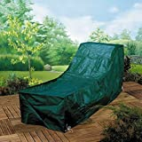 XL Möbelschutzhülle für Sunlounger Sonnenliegen Schutzhülle Gartenmöbel für für Sonnenliege