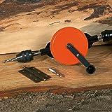 Schröder Handbohrmaschine mit Rahmen, 2 Ritzel 8 mm (5/16') Länge = 295 mm SCHROEDER, in Schachtel 50164-200