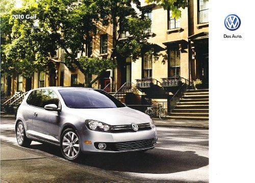 2010 Vw Volkswagen Golf 24-Page Original Dealer Sales Brochure Catalog - Tdi 2.5