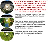 img - for Massive Cash Flow Pack with How To Earn Extra Money, Marketing and Success Principles for Sports Keychains On-line Businesses 3 CD Pack book / textbook / text book