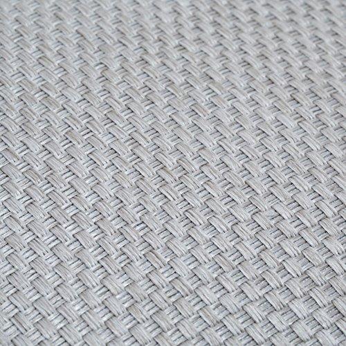 Madura 13759Umschlag-Kissen aus Polyester Coconut grau Perle 40x 40cm
