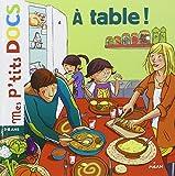 A table ! (Mes p'tits docs)