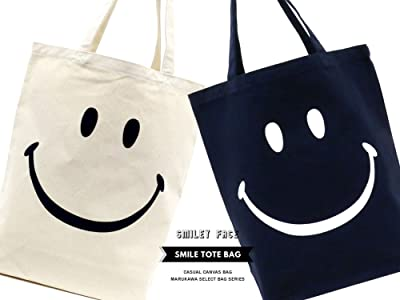 SMILEY FACE(スマイリーフェイス) トートバッグ スマイル キャンバストート