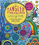 Tangled Treasures Coloring Book: 52 I...