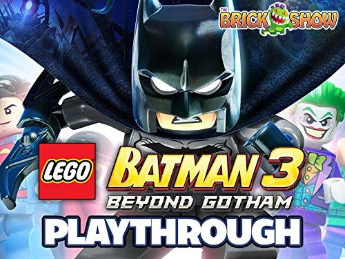 Clip: Lego Batman 3 Beyond Gotham Playthrough on Amazon Prime Instant Video UK