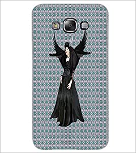 PrintDhaba Black Angel D-5648 Back Case Cover for SAMSUNG GALAXY A7 (Multi-Coloured)
