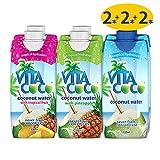 お試しミックス6本セット Vita Coco ココナッツウォーター オリジナル2本&パイン2本&トロピカル2本