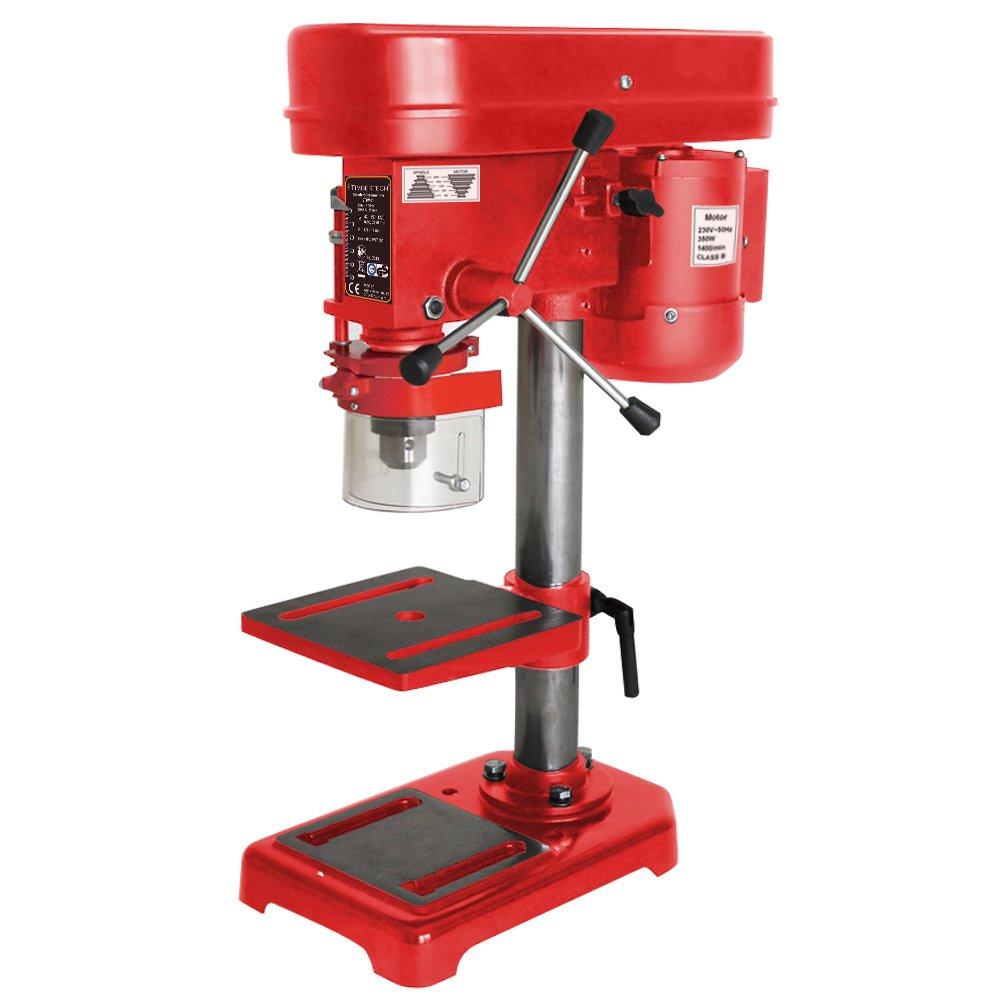 Säulenbohrmaschine Standbohrmaschine 580 bis 2.650 min1 (5 Stufen), 350W  TÜVSüd GS zertifiziert  BaumarktRezension
