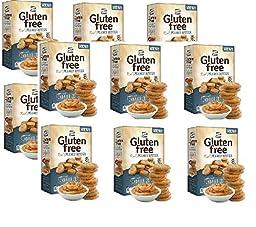 Lance Gluten Free Peanut Butter Bite Sized Sandwich Snack Crackers 5 Oz Box [12 Pack]
