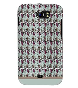PrintDhaba Bell Pattern D-1570 Back Case Cover for MICROMAX A110Q CANVAS 2 PLUS (Multi-Coloured)
