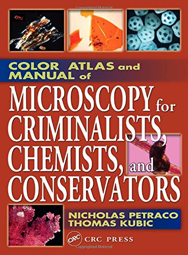 Color Atlas and Manual of Microscopy for Criminalists, Chemists, and Conservators