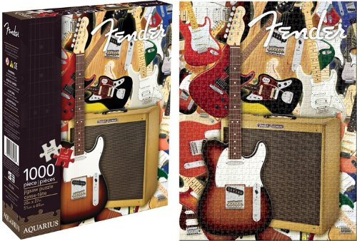 Aquarius Fender Collage 1000 Piece Jigsaw Puzzle