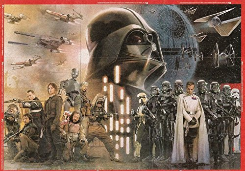 2016 Topps Star Wars Rogue One Mission Briefing Puzzle Set of 10 Cards