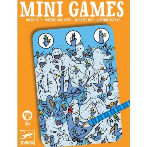 Mini Games - Where is Piou Piou?