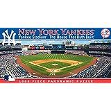 Masterpieces MLB New York Yankees Stadium Panoramic Jigsaw Puzzle, 1000-Piece