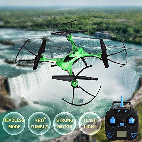 Makibes-JJRC-H31-Wasserdichtes-RC-Drone-Headless-Modus-One-Key-24G-4CH-6-Achsen-RC-Quadcopter-RTF-3D-Roll-Night-Flight-Rckgabe-Grn