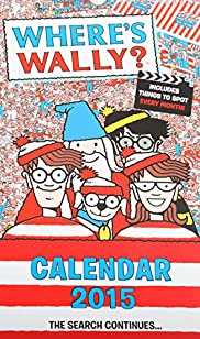 Where's Wally Slim 2015 Calendar [T21-3503A-S]