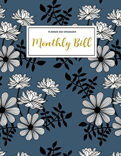 Monthly Bill Planner and Organizer Finance Monthly & Weekly Budget Planner Expense Tracker Bill Organizer Journal Notebook | Budget Planning | ... (Expense Tracker Budget Planner) (Volume 1) [Correia, Jada] (Tapa Blanda)