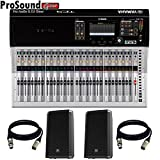 Yamaha TF5 | 32 Channels Digital Mixing Console + FREE PAIR EV ZLX12P and XLR Cables