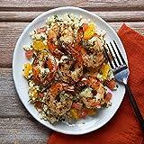 Grilled Jumbo Shrimp with Orange-Fennel Couscous by Chef'd Partner Scott Conant (Dinner for 2)