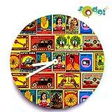Tappu Ki Dukaan Matchbox Wall Clock