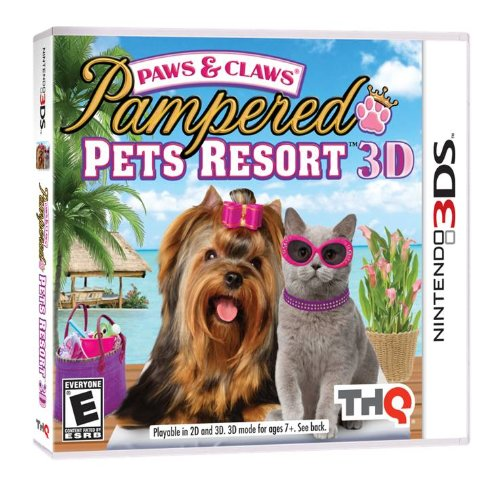 Paws & Claws Pampered Pets Resort - Nintendo 3Ds front-443387