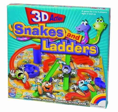 3D Snakes And Ladders